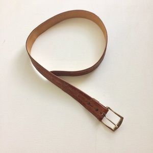 Kenneth Cole Men's Tan Belt Size 32